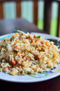 Fried rice with seafood Stock Photography