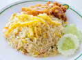 Fried Rice Thailand Style.No.1 Royalty Free Stock Image