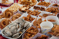 Fried seafood Royalty Free Stock Photography