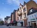 Friedberg square - Royalty Free Stock Photo