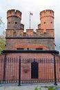 Friedrichsburg gate old german fort in koenigsberg kaliningrad until koenigsberg russia the city of Stock Photography