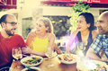 Friend Friendship Dining Celebration Hanging out Concept Royalty Free Stock Photo