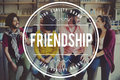 Friend Friendship Youth Happiness Togetherness Concept