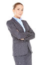 Friendly confident business executive Royalty Free Stock Photo