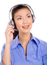 Friendly Customer Care Royalty Free Stock Image