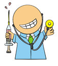 The friendly doctor Royalty Free Stock Images
