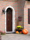 Friendly entrance door Stock Images