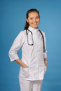 Friendly female doctor Royalty Free Stock Photography