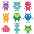 Friendly monsters set