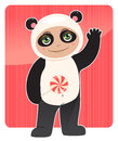 Friendly panda Royalty Free Stock Photos