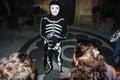 Friendly skeleton Royalty Free Stock Photo