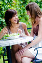 Friends Sharing Lunch Royalty Free Stock Photography