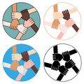 Friendship Circle For Solidarity Four Versions
