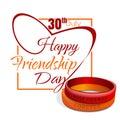 Friendship Day card 30 July