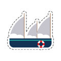 frigate recreation travel cut line