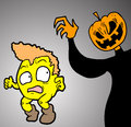 Fright halloween creative design of Stock Photos