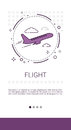 Fright Plane Tickets Online Booking Service Banner
