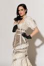 Frilly dress Stock Photos