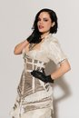 Frilly dress Stock Images