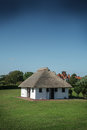 Frinton toilet block england view of english in on a sunny day Royalty Free Stock Photo