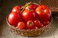 Frische rote tomaten Stockbild