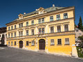 Fritz house in banska stiavnica Royalty Free Stock Photos