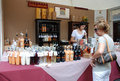 Friuli Doc Drinks Stall Royalty Free Stock Images