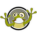 Frog cartoon Royalty Free Stock Image