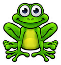 Frog Cartoon Character Royalty Free Stock Photo