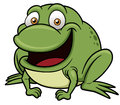 Frog cartoon vector illustration of Stock Images