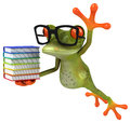 Frog cute little d generated Royalty Free Stock Photo