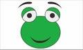 Frog funny cartoon