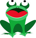 Frog illustration Royalty Free Stock Photo