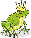 Frog Prince Princess Royal Vec...