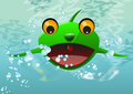 Frog Thing, illustration Royalty Free Stock Image
