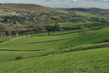 Froggatt Edge and the Hope Valley, England Stock Photos