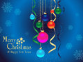 Frohe weihnachten u guten rutsch ins neue jahr hintergrund Stockbilder