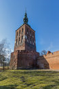 Frombork cathedral basilica of the assumption of the blessed virgin mary and st andrew poland Royalty Free Stock Photos