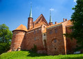 Frombork cathedral famous church where copernicus work in poland europe Stock Photography
