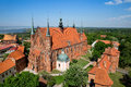 Frombork cathedral famous church where copernicus work in poland europe Royalty Free Stock Photos