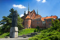 Frombork cathedral famous church where copernicus work in poland europe Royalty Free Stock Image