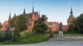 Frombork cathedral place where nicolaus copernicus was buried poland Stock Image