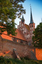 Frombork cathedral place where nicolaus copernicus was buried poland Stock Photos