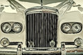 Front of a bentley axle rigid body drempt the netherlands august classic car in drempt the netherlands Stock Image