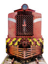 Front of Cargo Locomotive Stock Photography