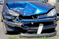 Front collision Royalty Free Stock Photo