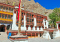 Front compound of hemis gompa Stock Photography