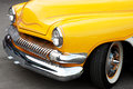 Front Detail of a Vintage Car Royalty Free Stock Photo