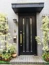 Picture : Front door standing front church