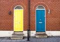Front Doors Of Attractive Lond...